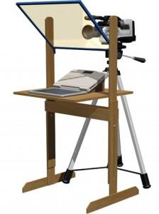 Teleprompter Prototipo Pedestal