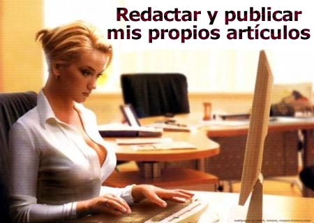 Beneficios de publicar tus propios artículos
